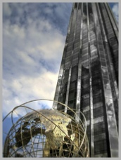New York Trump Tower and Globe